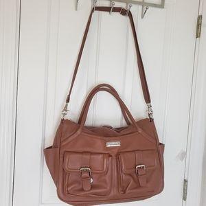 Lily Jade Elizabeth Diaper Bag Camel Color